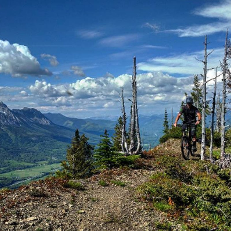 """""""Sometimes looking back is not a bad thing. #mtbbc #hikeabike #yourgoingthewrongway #arewethereyet #oneway #tomany#tags #Fernie #beautifulbritishcolombia #rockymountainbikes #mountainbike #mtb #bike #getoutside #in2nature #liveoutthere #explore #lifeisgood #bikes #liveoutside #loamcoffee #keepitwild #expeditionportal #snow #rock #sky #dirt #rvlife #vanlife #summerofchaco"""""""