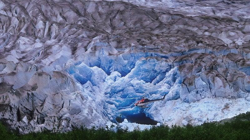 Klinaklini Glacier.