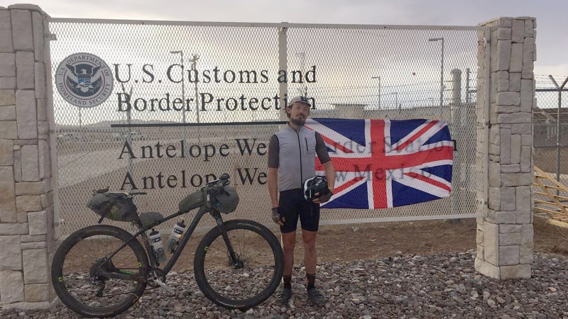 Mike Hall just set the Tour Divide record with a time of 13 days, 22 hours, and 51 minutes.
