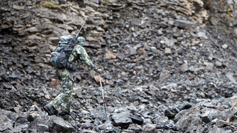 KUIU's Verde pattern is a little less contrasty, designed to work better in closer environments.