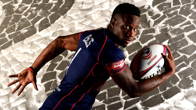 Speed to spare: If Isles qualifies in July, he'll also compete in the 100 meters.