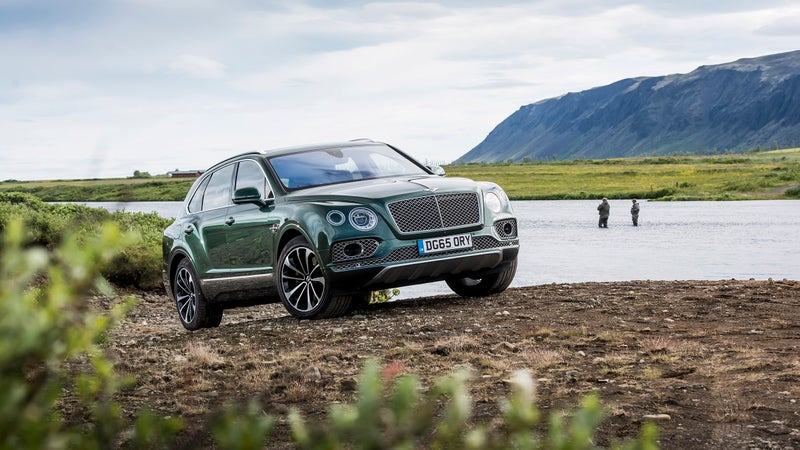 A Bentley with an E-Locker? The Bentayga includes one as standard.