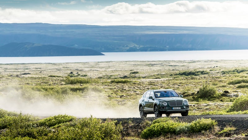 While it's extremely, extremely fast, the Bentayga is ultimately not that involving to drive. It's a practical SUV, not a driver's car.