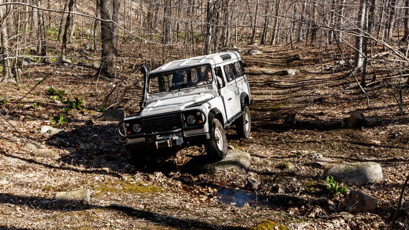 After buying one in England and restoring it, Sandone, who had been making his living refurbishing vintage cars, founded North America Overland, a business dedicated to old Rovers that he runs out of his 18th-century farmhouse in rural Connecticut.