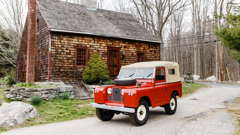 The Land Rover Defender 110 series was so named for the length, in inches, of the wheelbase.