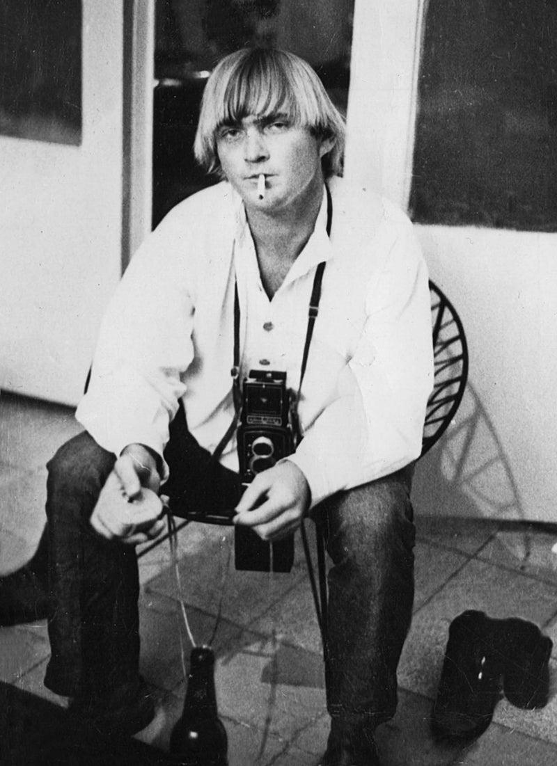 McDonell in Beirut, September 1970, as a freelancer.