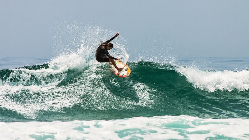 Harley Taich received conflicting advice after her concussion at a surf contest near Malibu.