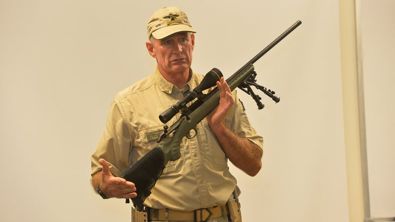 Wilkinson explains operation of the Ruger American Predator and Leupold VX3i scope.