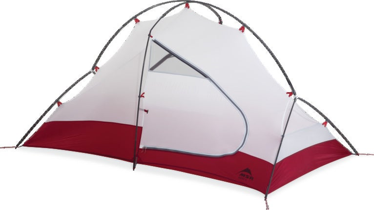 The Access is basically a backpacking tent without the mesh body, and with a spreader pole that extends to the ground on both sides. It's an awkward combination that's not light or well ventilated enough to work off the mountain, but not strong enough to work on it either. And it's expensive.