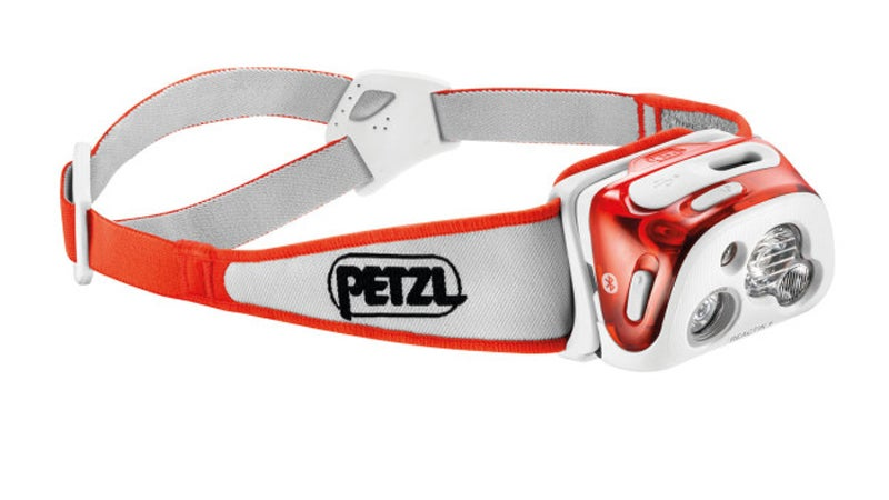 Petzl Reactik+ headlamp.