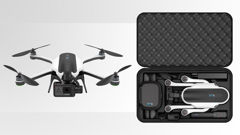 The GoPro Karma and included backpack.