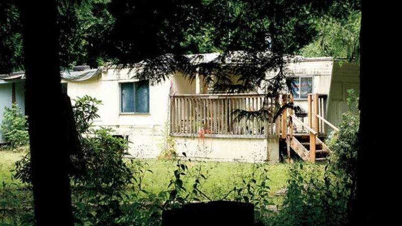 Colt's home on Camano Island, Washington.