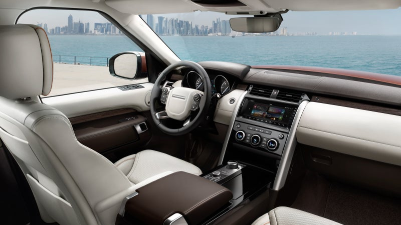 Clean and functional; we dig the simplicity of the new interior.