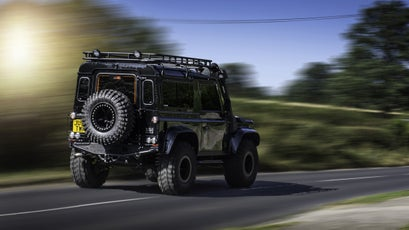 An off-road beast fit for James Bond.
