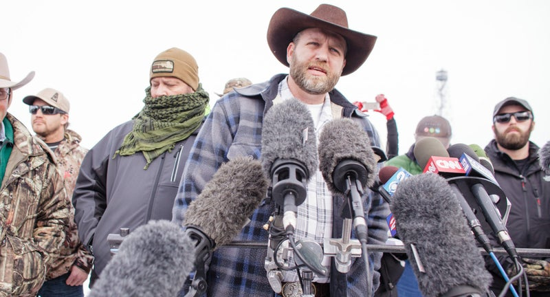 Rancher and anti-government activist Ammon Bundy initiated the armed occupation of the Malheur National Wildlife Refuge. He is the son of Cliven Bundy, who began a standoff with the Bureau of Land Management over unpaid grazing fees.