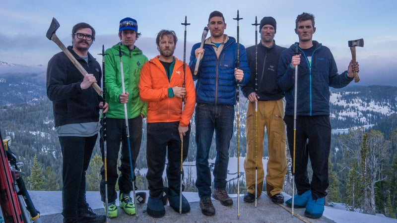 Thomas Laakso (third from left) doing field work in Utah.