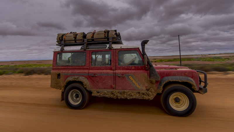 Modifications to this Defender were subtle, but they made the most of the already able package.