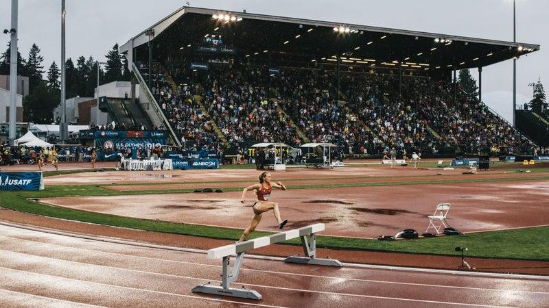 Women's steeplechase.