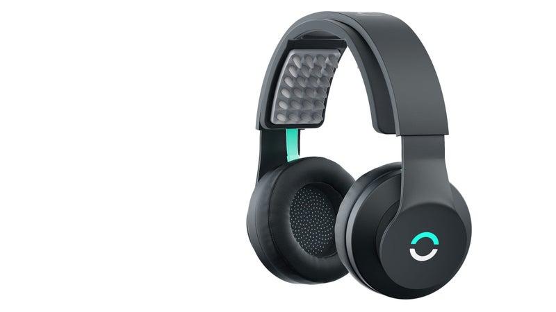 A pair of Halo Sport headphones.