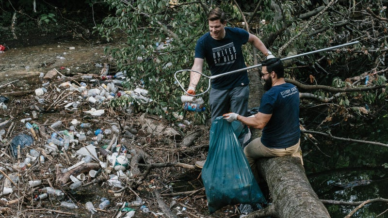 For every item sold, United by Blue removes a pound of trash from a U.S. beach.