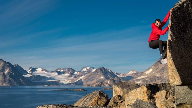 Bouldering in Greenland? No big deal.