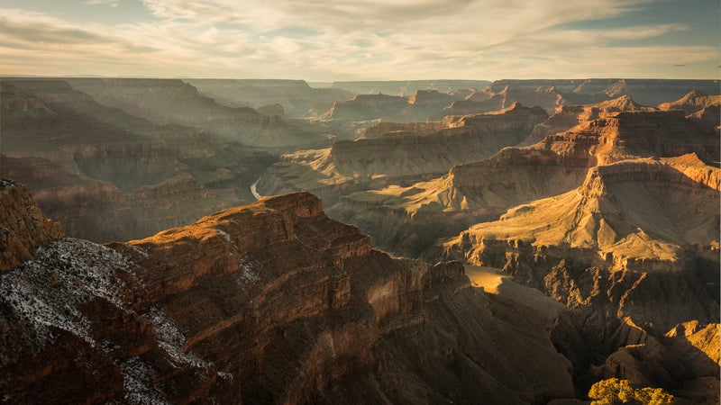 Kevin Fedarko and Pete McBride hiked the entire Grand Canyon to raise awareness of threats to the national park.
