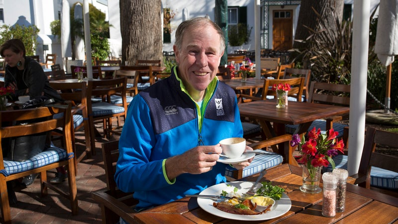 Noakes in Cape Town