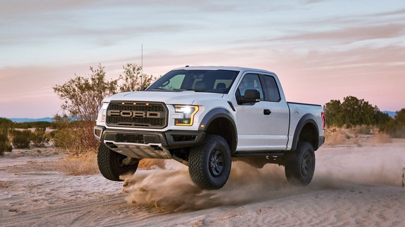 This thing's so fast that you should strongly consider performance off-road driver training if you want to buy one. Doing so will maximize your ability to enjoy the truck safely.
