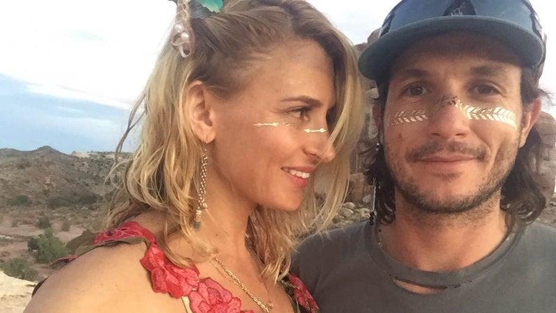 Schaffer alongside his girlfriend, Emma, in Moab last September.