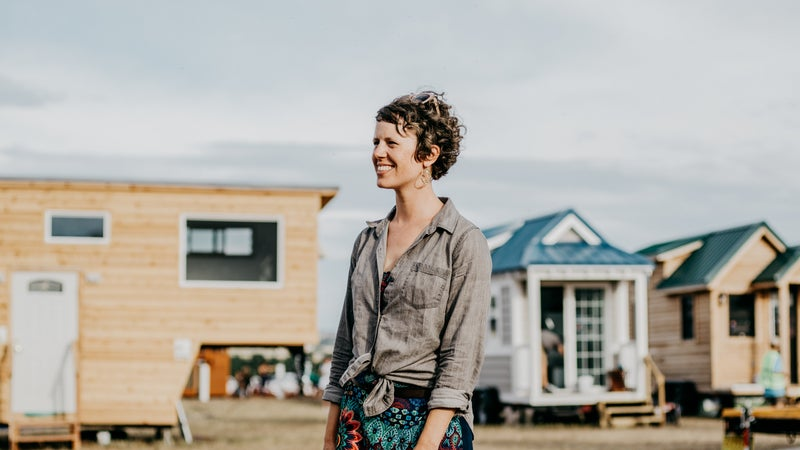 Lee Pera of the Tiny House Collaborative.