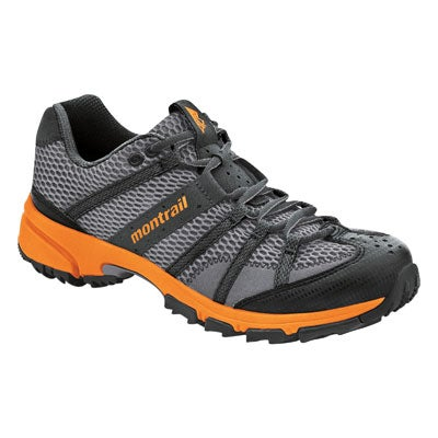 Lightweight and responsive, with medial posting for support and stability on aggressive terrain.