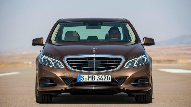 2014 Mercedes-Benz E-Class Luxury Sedan.
