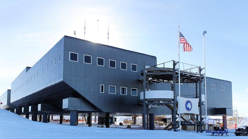 The Amundsen-Scott South Pole Station.