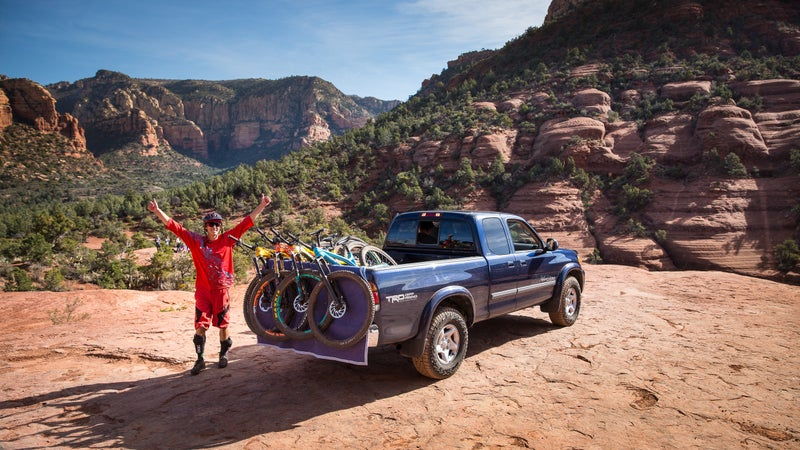Two thumbs up for the variety and extensive trails in Sedona.