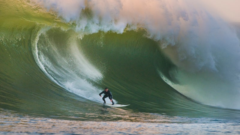 Maverick's is one of the most incredible waves on the planet.