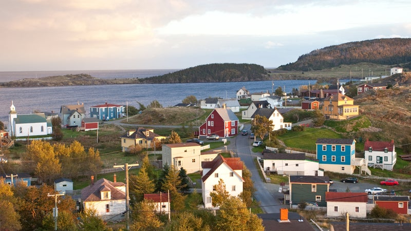 Trinity, dating back hundreds of years, is one of the best-preserved fishing villages in Newfoundland.