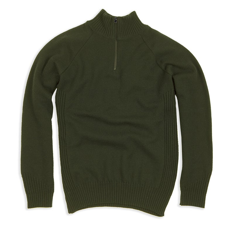 Duckworth's Field Master sweater, made from Montana Wool.