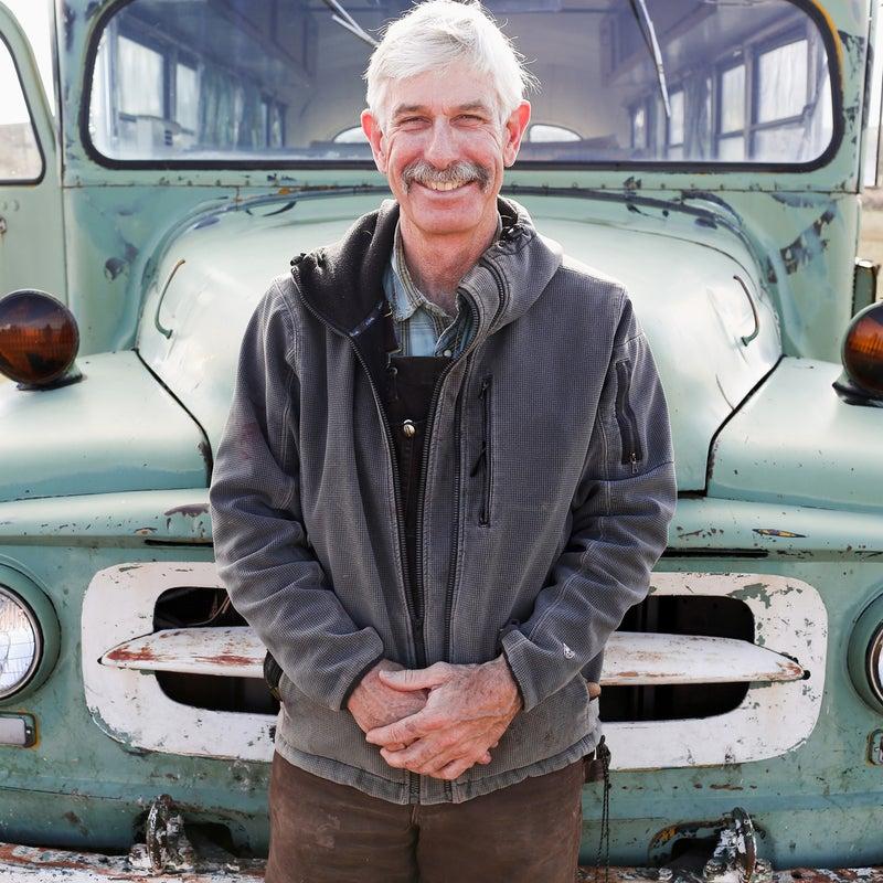 Fred Roberts raises sheep in southwestern Wyoming.