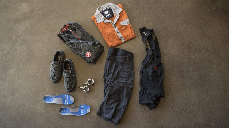 Choosing what cycling gear to bring along can either make or break your trip. It's best to pack light while always being as prepared as possible.