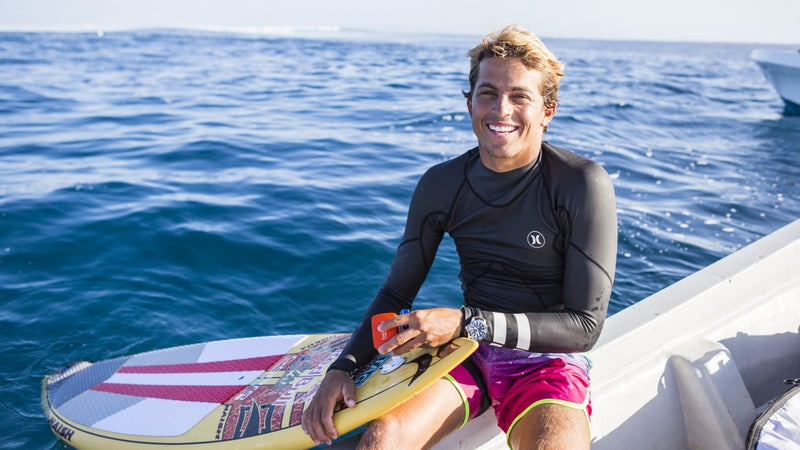 There is no ocean sport that seven-time SUP world champion, canoeist, freediver, skimboarder, and body surfer, Kai Lenny, doesn't dominate.