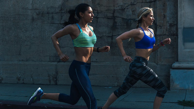 Brooks' sports bras are considered to be some of the best on the market, offering stability and support—through well-designed, quality materials—for women of every breast size.
