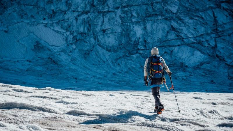 Greenland's glaciers still span virtually the entire island.