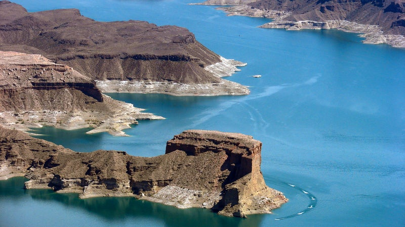 Lake Mead itself can present the most danger to visitors—even more so than desert high temperatures.