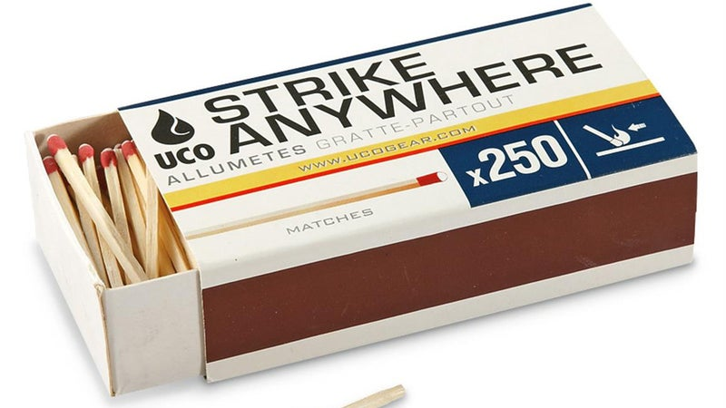 Strike anywhere? More like strike nowhere.