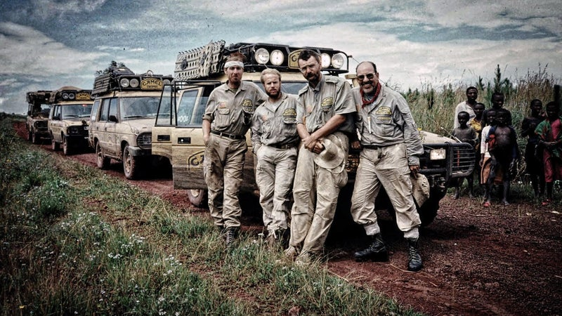 Pelton competed for Team USA in the 1991 Camel Trophy, traveling 1,200 miles from Dar es Salaam, Tanzania, to the Nile River, in Bujumbura. The route retraced the trail of Dr. David Livingstone.