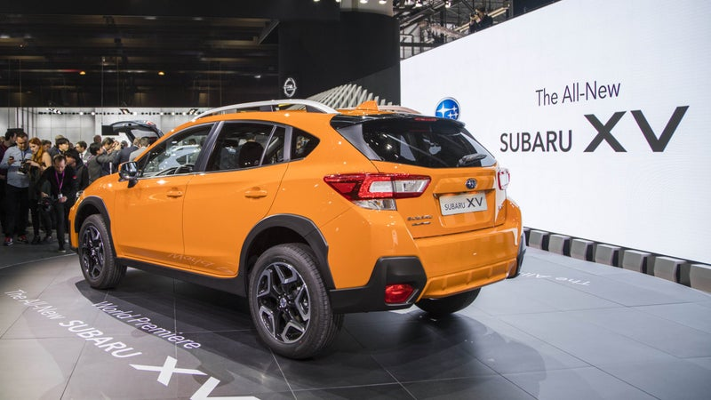 The old model was called the XV Crosstrek. Now, for 2018 and on, it will just be known as the XV in Europe, and the Crosstrek, in North America.