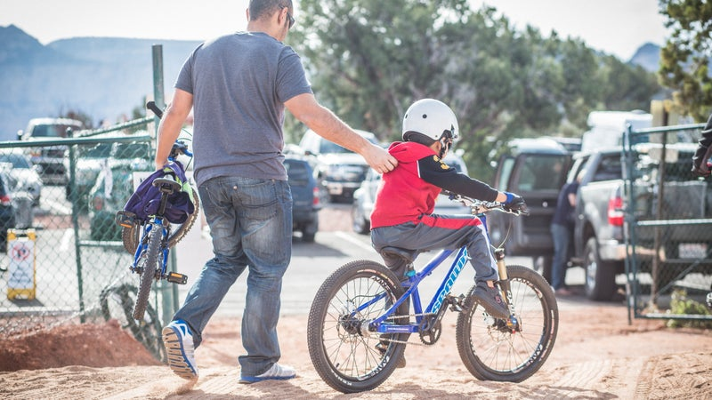 One of the biggest benefits of a mountain bike festival—getting the youth involved and started early.