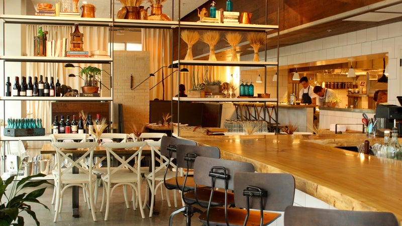 The modern chic foodie heaven of Kevin Fink's creation.