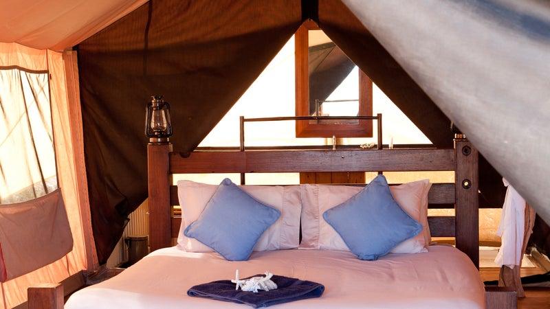 Sal Salis luxury safari camp on Ningaloo Reef, Western Australia.