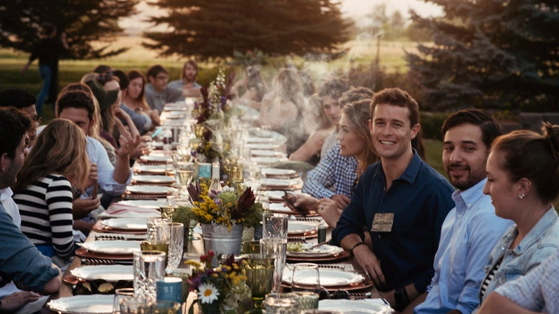A smoke filled haute-cuisine garden party—in Boulder of course.